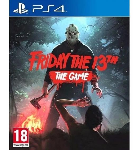 Jogo Mídia Friday The 13th The Game Original Para Ps4
