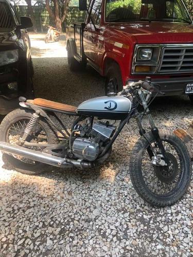 Moto Scrambler Cafe Racer Yamaha Rx-s 125 2t 1997 Motor Impe