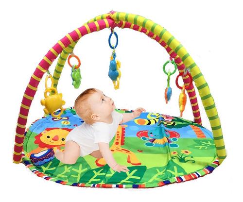 Gimnasio Bebe Didactico Con Animalitos Healty Baby Fitness