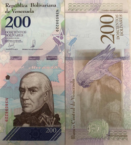 2 Cédulas De Bolívar Soberano 200 E 500.
