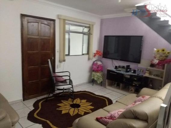 Sobrado Residencial À Venda, Jardim Barreira Grande, São Paulo. - So0725