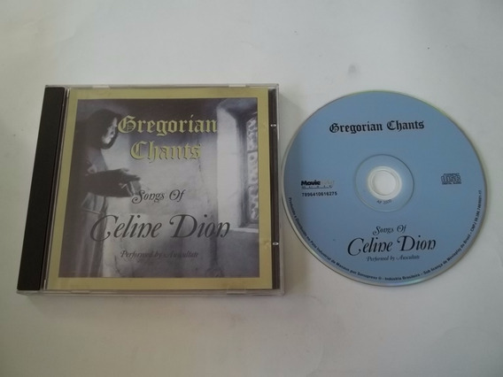 Cd - Gregorian Chants - Songs Of Celine Dion - Classica