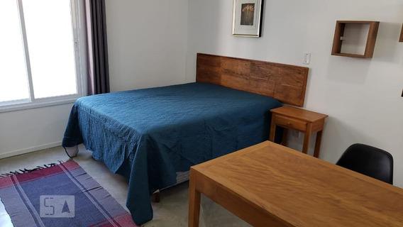 Apartamento Para Aluguel - Chácara Santo Antonio, 1 Quarto, 28 - 893112456
