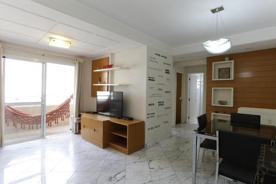 Apartamento No 16º Andar Mobiliado Com 2 Dormitórios E 2 Garagens - Id: 892978798 - 278798
