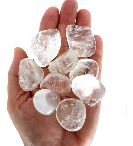 Cristal - Pedra Rolada - Quartzo Branco (pacote Com 100g)