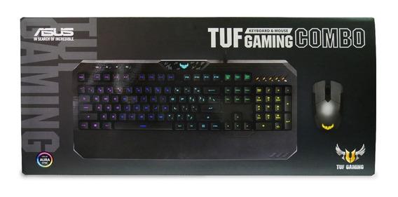 Combo Gamer Teclado Y Mouse Asus Tuf
