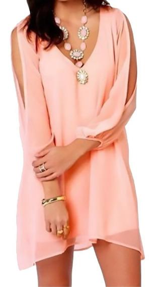 Vestidos Mujer Limonni Li033 Cortos Elegantes Dama Fiesta