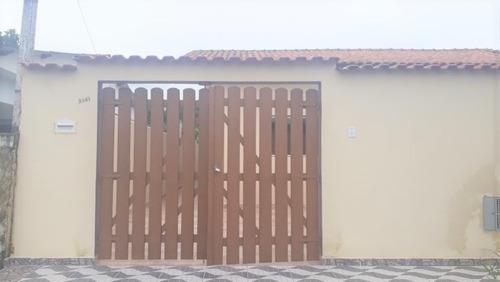 Casa Nova 2 Dormitórios/suite Em Itanhaém!