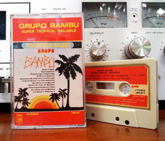 Grupo Bambu - Super Tropical Bailable Cassette@