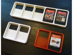 Porta Jogos Case Nintendo Switch Transporte Proteção 5 Jogos