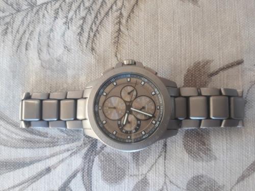 Michael Kors Titanium  Chronograph Watch Mk8530