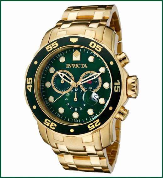 Relógio Invicta Pro Diver Plaque Fundo Verde 21925 0075