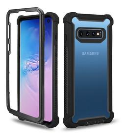 Protector Funda Samsung S10e S10 Plus Lite + 360 Uso Rudo