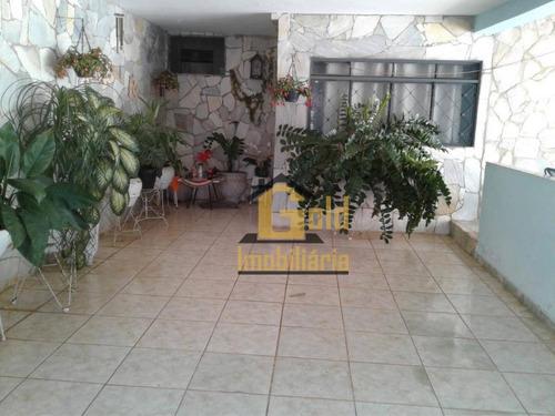 Casa Com 2 Dormitórios À Venda, 174 M² Por R$ 185.000,00 - Avelino Alves Palma - Ribeirão Preto/sp - Ca1046