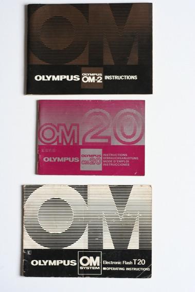 Manual De Câmera Olympus Om-2, Olympus Om20 E Flash
