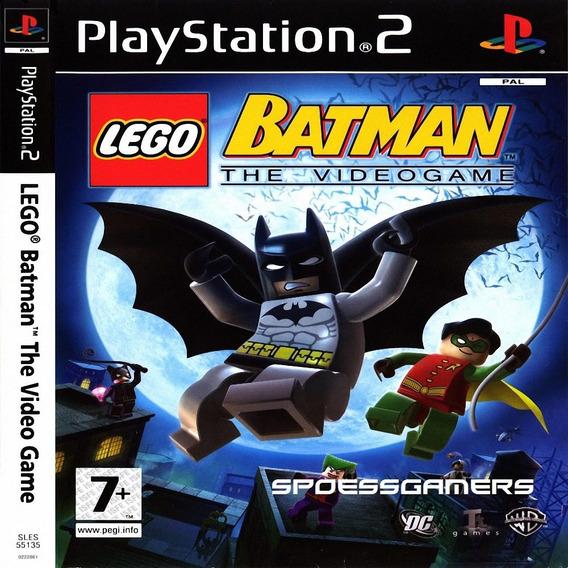 Lego Batman Ps2 Desbloqueado Patch