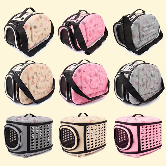 Eva Folding Pet Carrier Puppy Dog Cat Outdoor Travel For Sma