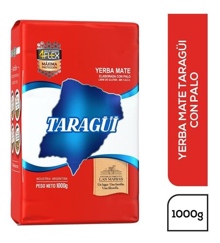 Imagen 1 de 1 de Yerba Mate Taragüi Con Palo 4flex 1kg