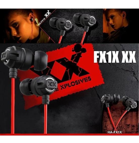 Fone De Ouvido Jvc Ha Fx1x Xtreme Xplosive Original