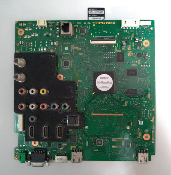 Placa Principal Tv Sony Kdl-32ex-425 1-884-915-11 Semi Nova