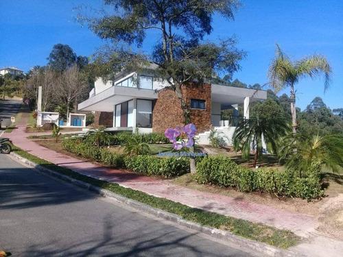 Casa Com 3 Dormitórios À Venda, 310 M² Por R$ 2.700.000,00 - Ecoville - Araçariguama/sp - Ca0175