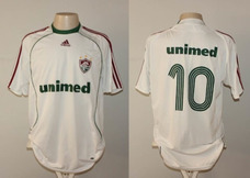 Camisa Fluminense 2010 Branca no Mercado Livre Brasil 04e327eca06bb