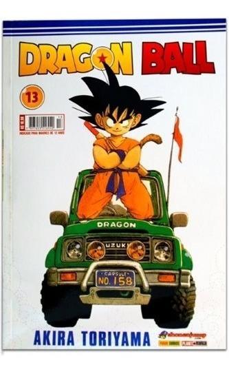 Revista Dragon Ball Edição 13