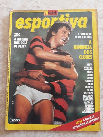 Manchete Esportiva # 48 Pôster Cosmos