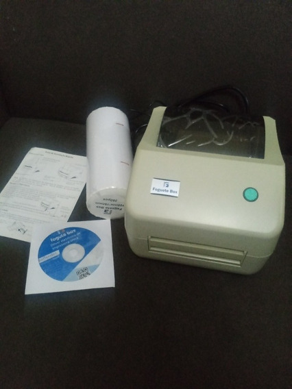 Impressora Térmica Etiqueta Plp Correios + 500 Etiquetas