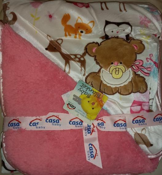 Manta O Cobija Para Bebé Reversible Hay Para Niña Y Niño
