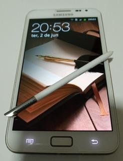 Celular Samsung Galaxy Note Gt-n7000 Branco Usado Conservado