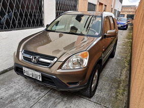 Honda Cr-v 2004 Full Equipo 4x4 Real Time
