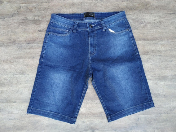 Bermuda Jeans Hurley Logo Blue Casual
