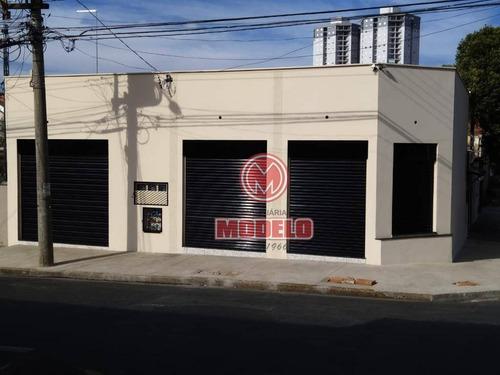 Salão Para Alugar, 65 M² Por R$ 1.380,00/mês - Paulista - Piracicaba/sp - Sl0434