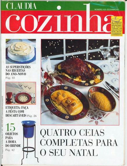 Revista Claudia Cozinha - Dezembro/1997