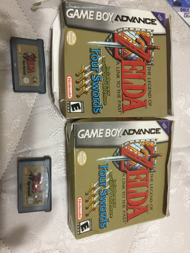 Juego Zelda Nintendo Game Boy Advance Four Swords