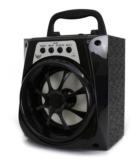 Caixa De Som Bluetooth Altomex A22 Usb Sd Radio Fm Media