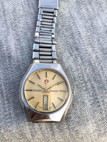 Reloj Rado Conwoy Automático Acero Suizo Vintage Cal 2780