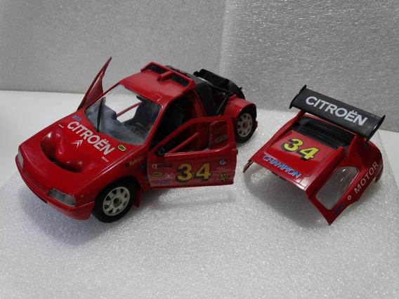 Citroen Zx Rallye Raid - Majorette 1:18 - Loose Mt - *** Obs