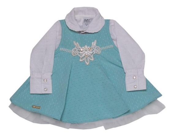 Vestido Princesa Detalhes And Pearls Festa Bebe Sonho Magico