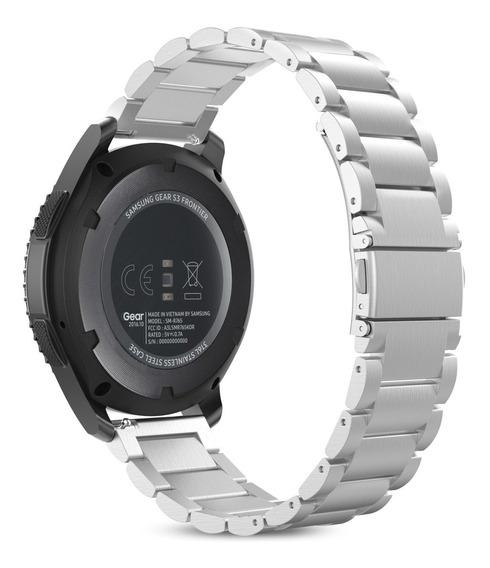 Pulsera Acero Inox P/samsung Gear S3/galaxy Watch 46mm Etc.