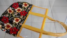 Bolsa Shopping Praia Piscina Verão Bag Sacola Plástico Saco