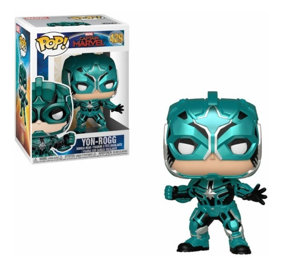 Muñeco Funko Pop Capitana Marvel Yon-rogg 429 Original