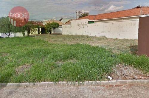 Imagem 1 de 15 de Terreno À Venda, 300 M² Por R$ 277.000,00 - Jardim Califórnia - Ribeirão Preto/sp - Te1621