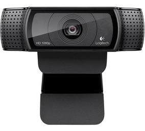Webcam Logitech C920 Pro Full 1080p Chamdas E Gravações