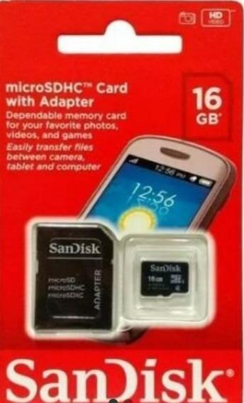 Kit De15 Cartão De Memória Sandisk 16 Gb 100% Original .o