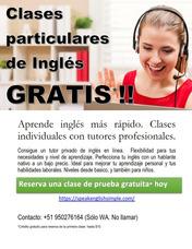 Clases Particulares De Inglés Y Mas
