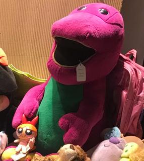 Barney Gigante Peluche Importado