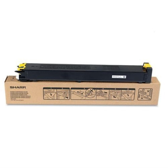 Mx23btya Cartucho De Toner Amarelo Original Sharp Mx2310u