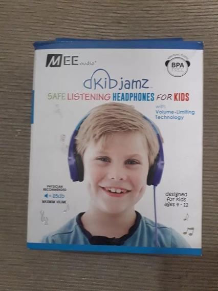 Fone De Ouvido Mee Kid Jamz - Infantil Kj25-bl Vitrine!!